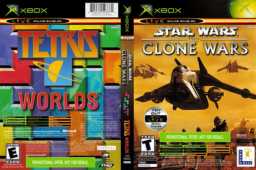 Star Wars: The Clone Wars / Tetris Worlds