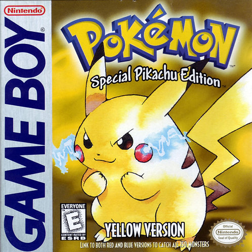 Pokemon Yellow - Special Pikachu Edition