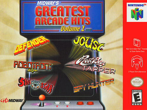 Midway's Greatest Arcade Hits - Volume 1