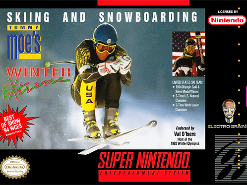 Tommy Moe's Winter Extreme - Skiing and Snowboarding