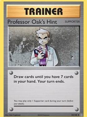 Trainer - Professor Oak's Hint #84