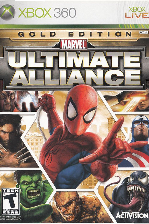 Marvel Ultimate Alliance: Gold Edition