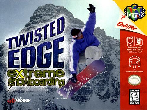Twisted Edge - Extreme Snowboarding