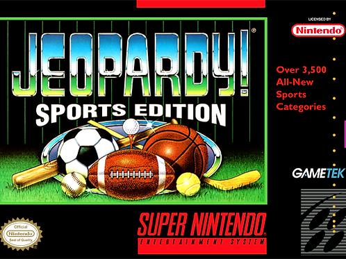 Jeopardy! - Sports Edition