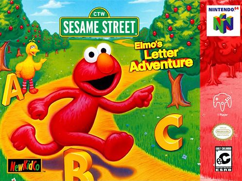 Sesame Street - Elmo's Letter Adventure