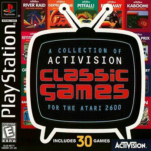 A Collection of Activision Classics for the Atari 2600