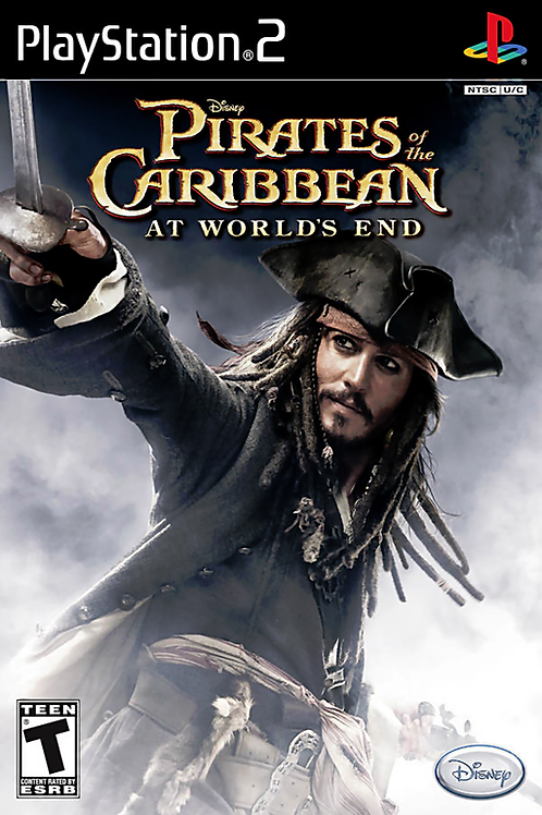 Disney Pirates of the Caribbean - At World's End