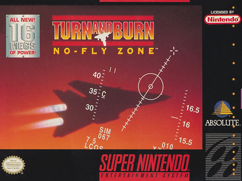 Turn and Burn - No-Fly Zone