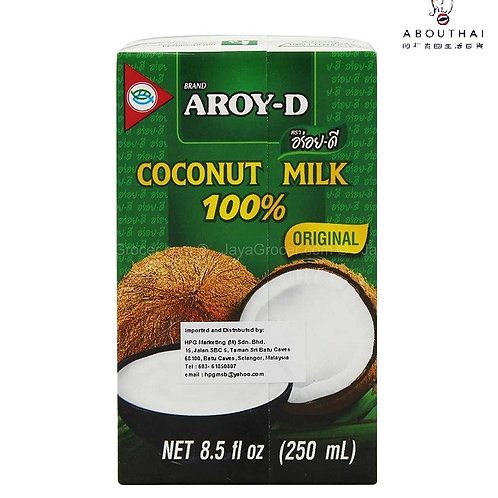 AROY-D 紙包裝椰奶 250ml