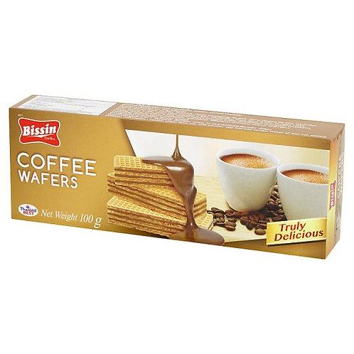 Bissin 咖啡威化餅 100克