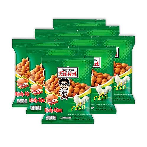 Koh Kae 大哥牌花生豆 雞味 17g 12包裝