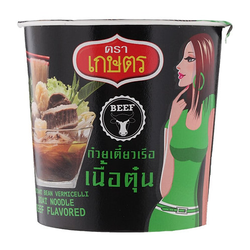 KASET 牛肉味即食杯裝粉絲 35克