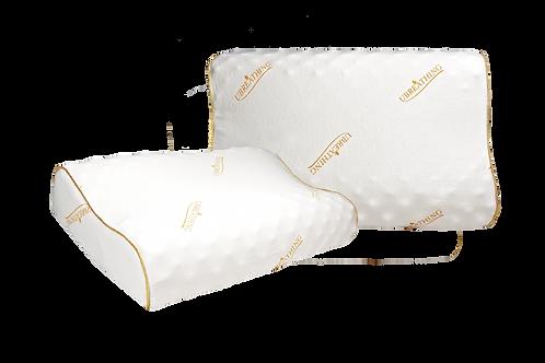 UBREATHING U.14泰國乳膠枕(矮款高低顆粒型)