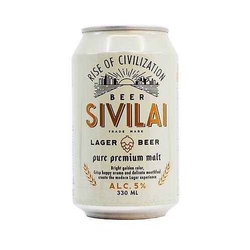 Sivilai 曼谷優質純釀啤酒 330毫升