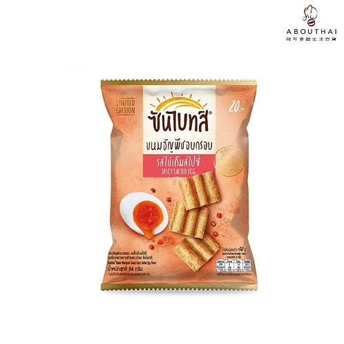 SUNBITES 香辣鹹蛋味穀物脆片54克