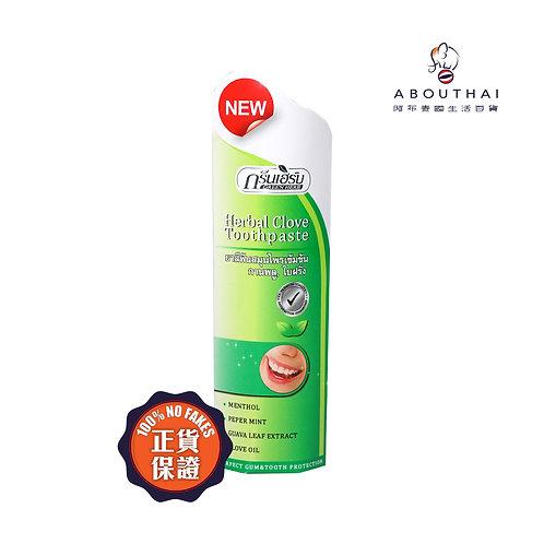 Green Herb 天然丁香美白牙膏(支裝) Green Herb Clove Toothpaste 30g