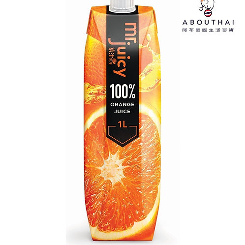 Mr. Juicy果汁先生 100%橙汁飲品 1公升