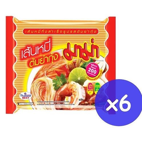 MAMA 媽媽 冬陰米粉55克 (6包裝)