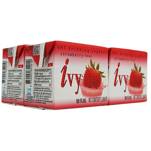Ivy 乳酪飲品180毫升x4 (原味/芒果/榴槤/藍莓/草莓)