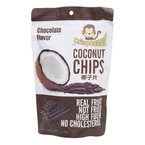 Crispconut 椰子片 40g 朱古力味