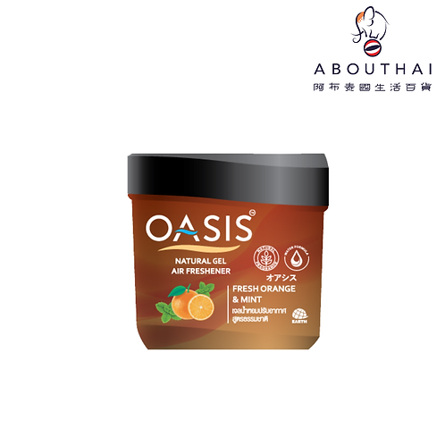 Oasis 天然空氣清新凝膠 - 香橙和薄荷 180g