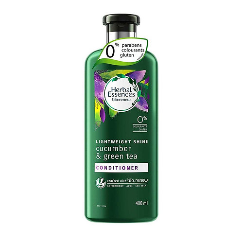 Herbal Essences草本精華小黃瓜綠茶抗氧亮澤護髮精華素 400ml