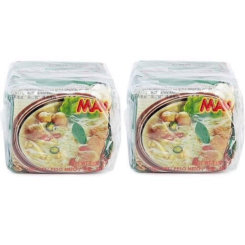 MAMA 媽媽 清湯味金邊粉 55克 5包裝 (2件)