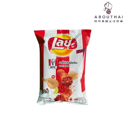 Lays x KFC聯乘 香辣雞翼味薯片48g