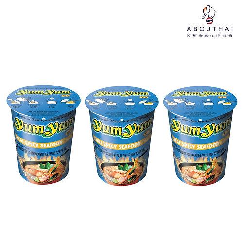 YUM YUM 養養牌 泰式香辣海鮮杯麵 70g (3杯裝)