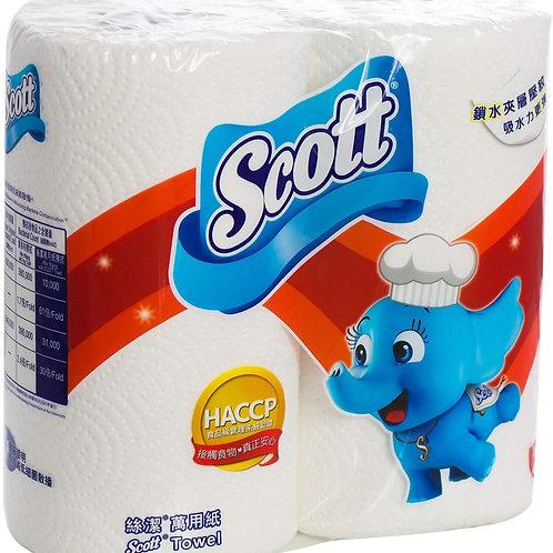 SCOTT 絲潔 萬用廚紙 - 2卷