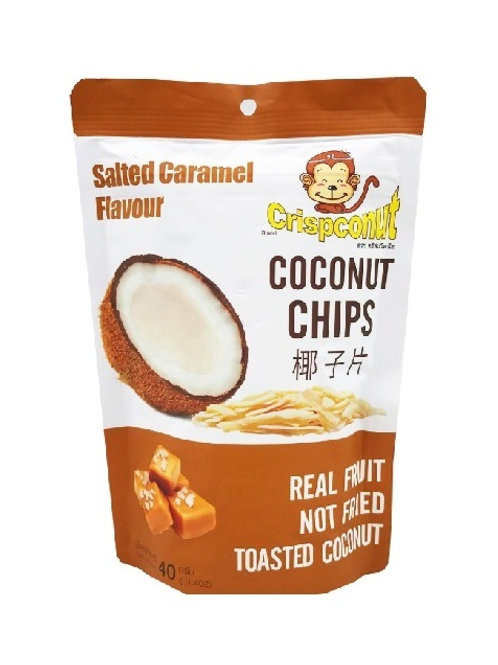 Crispconut 椰子片 40g 焦糖味