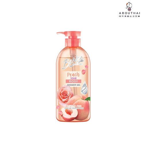 Benice 美肌水嫩沐浴露-蜜桃玫瑰 450毫升