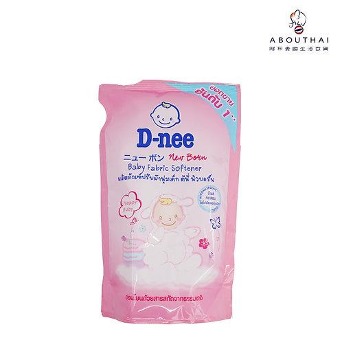 D-NEE 嬰兒衣物柔順劑 600毫升(補充裝)(快樂嬰兒/早晨清香)
