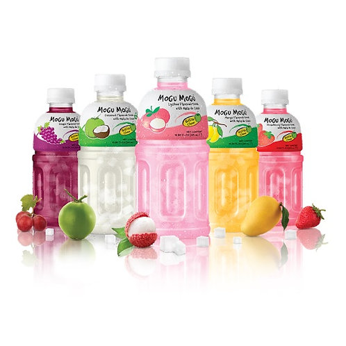 MOGU 水之果物 蒟蒻果汁320ml (7種口味)