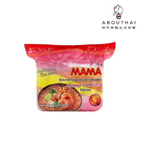 MAMA 媽媽 泰式冬蔭功蝦味即食麵55G (5包裝)