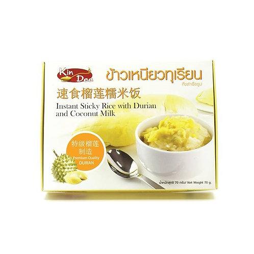 Kin Dee 即食榴槤糯米飯70g
