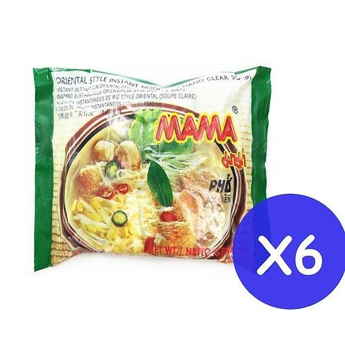 MAMA 媽媽 清湯河粉55克 (6包裝)