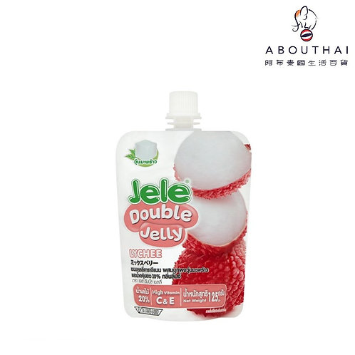 Jele 啫喱飲品 125g(士多啤梨/雜莓/荔枝) x2包