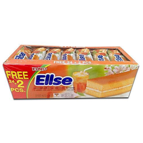 Ellse 奶茶蛋糕 15克x24件裝