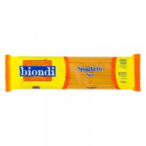 Biondi 意粉(4號) 500克