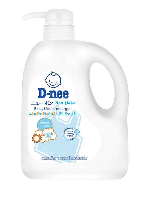 D-nee 嬰兒洗衣液 960毫升(泵裝)(粉藍/粉紅)