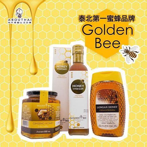 Golden Bee 蔘蜜 500g+特級龍眼蜜 500g+蜂蜜醋 280ml
