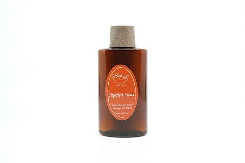 Aromatherapy Body Massage Oil Blend - Imperfect Circle