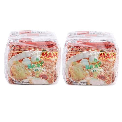 MAMA 媽媽 泰式冬蔭功味 金邊粉 55克 5包裝 (2件)