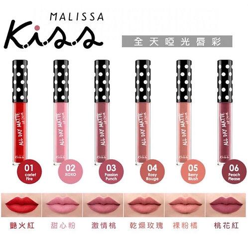 Malissa Kiss 啞光唇釉 (多色可選)