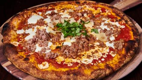 Sausage Parm Pizza