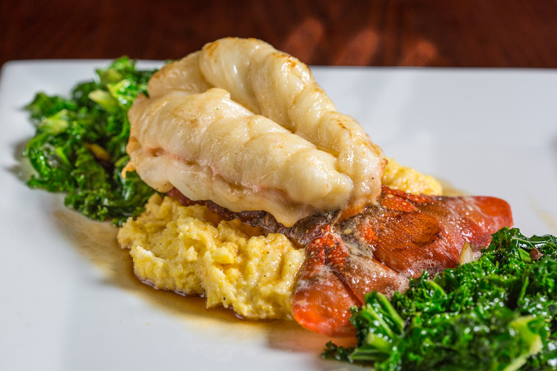 Butter Poached Lobster Tail