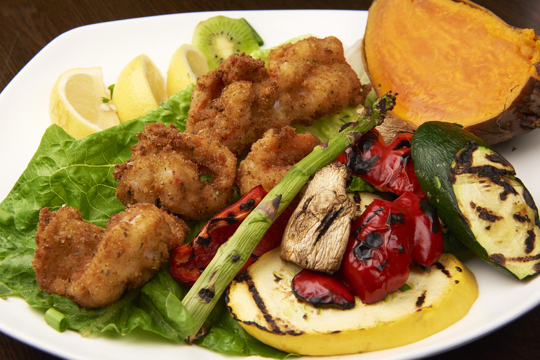 Seafood Milanese