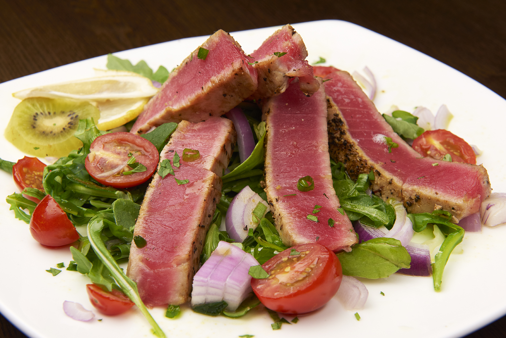 Lemon Crusted Ahi Tuna