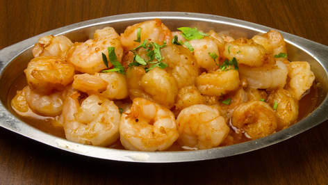 Shrimp in garlic